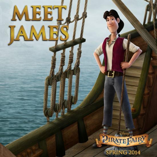 Conoce a James, uno de los nuevos personajes de la película Hada Pirata - Pirate Fairy