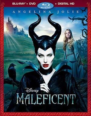 Portada del Blu-ray de Maleficent