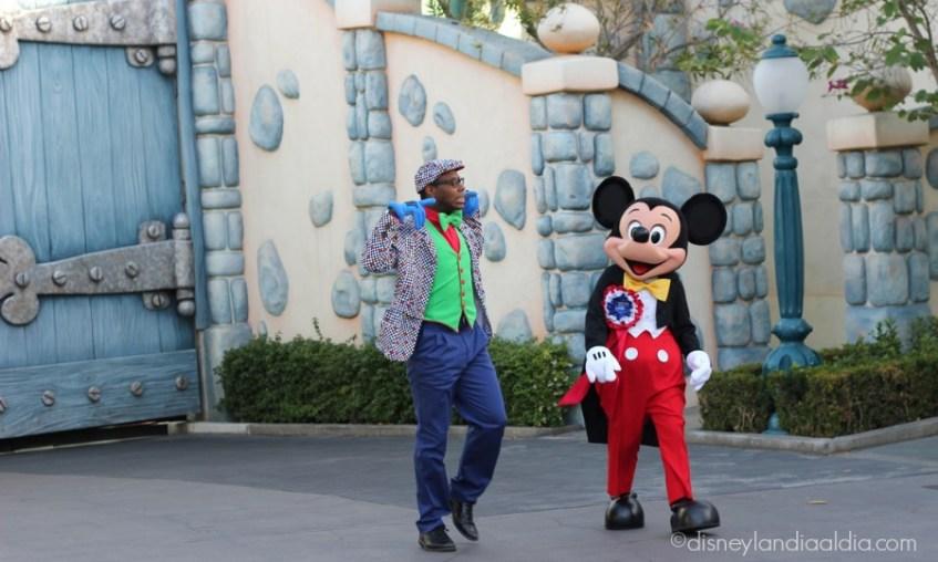 Mickey Mouse en Disneylandia