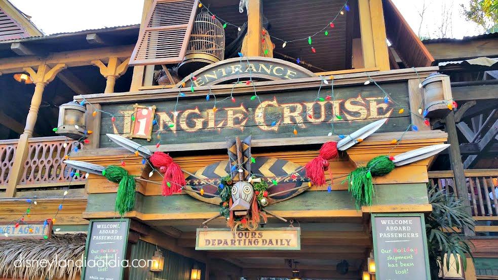 Desfile de Navidad en Disneylandia