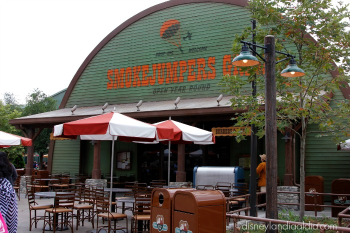 restaurant smokejumpers en Disney California Adventure - old.disneylandiaaldia.com