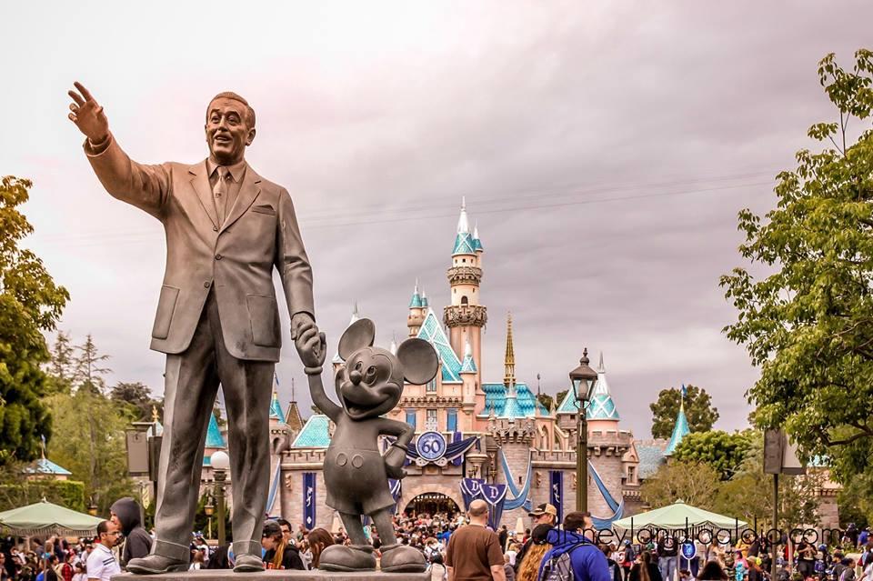 Partners Statue en Disneylandia