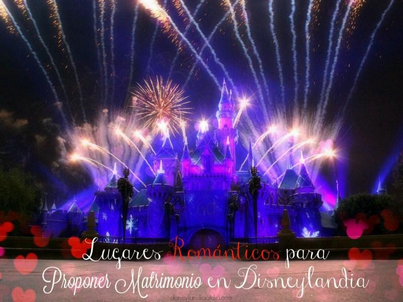 Ideas para Románticos para Proponer Matrimonio en Disneylandia