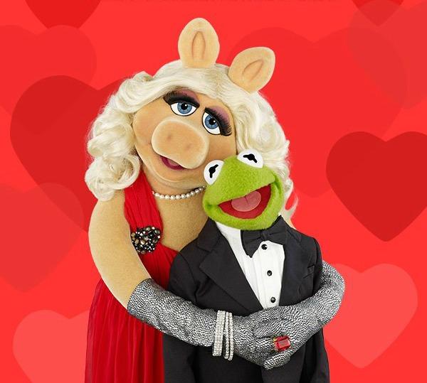 La Rana René y Miss Piggy