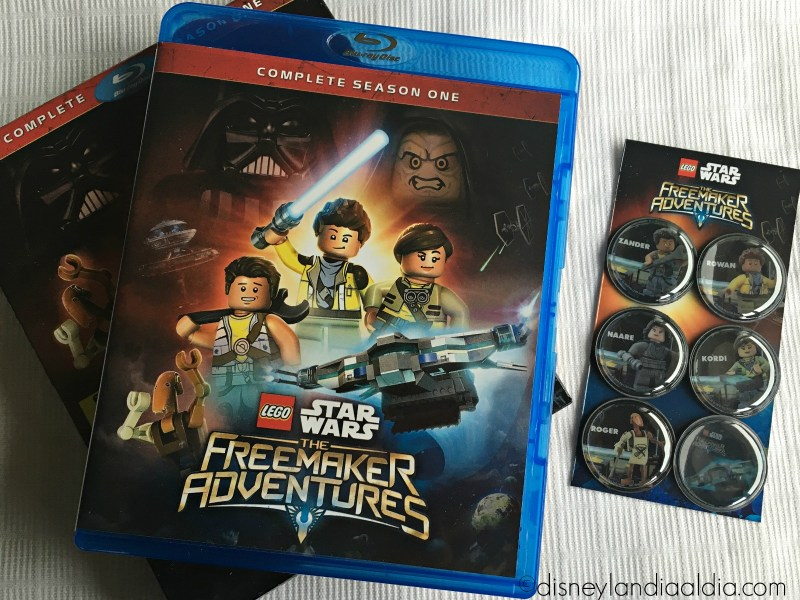LEGO Star Wars The Freemaker Adventures ha Llegado a Blu-ray