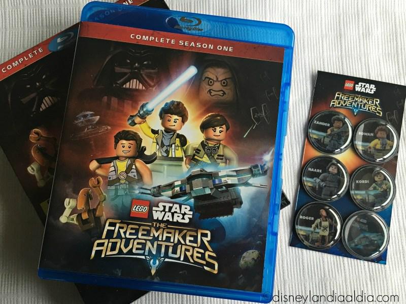 LEGO Star Wars The Freemaker Adventures ha Llegado a Blu-ray