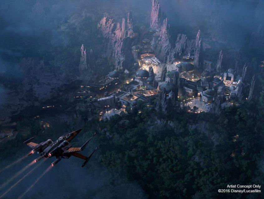 La Tierra temática de Star Wars en Disneylandia abrirá en 2019
