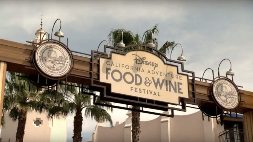 Food & Wine Festival 2017 en Disney California Adventure