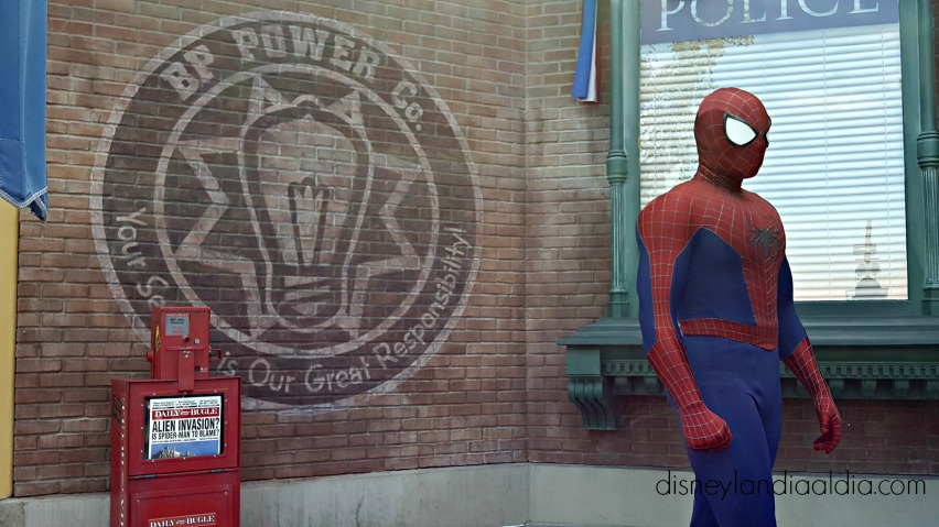 spider man en disney california adventure