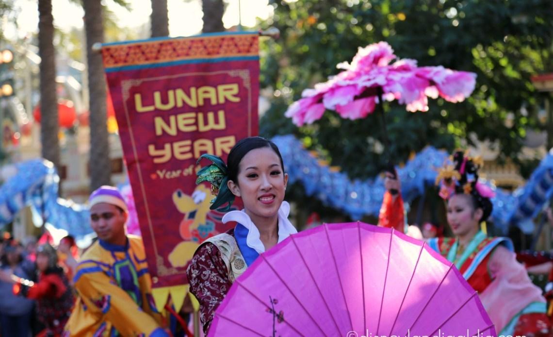 El Año Nuevo Lunar en Disney California Adventure
