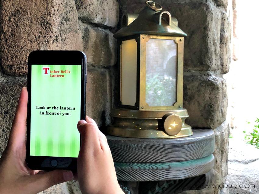 Jugando con la aplicación móvil Play Disney Parks App