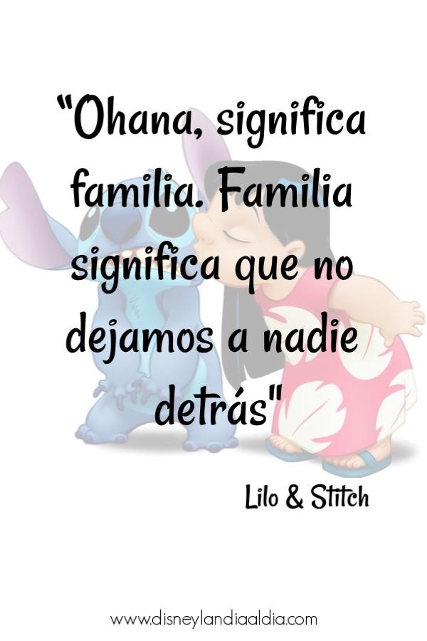 Frases Amistad Disney Lilo Stitch Disneylandia Al Día