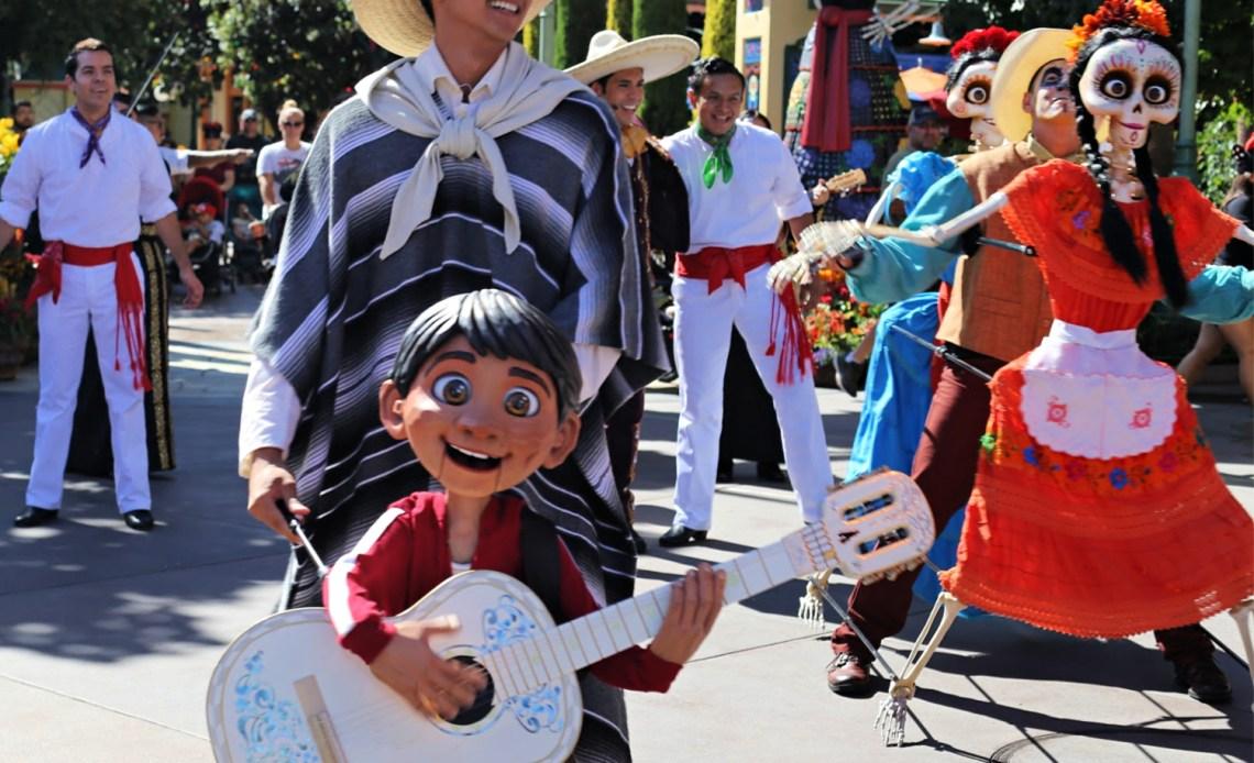 Donde encontrar a Miguel en Disneylandia