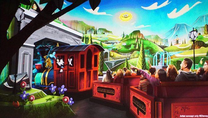 Nueva atracción en Mickey's Toontown