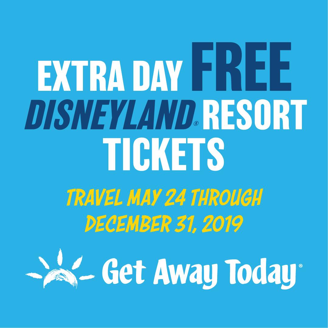 Descuentos en boletos de Disneyland