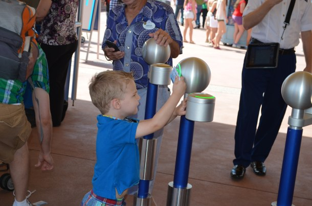 Epcot ticket gate