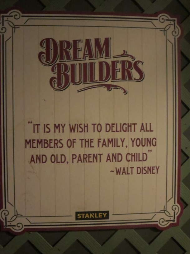 One of the many quotes from Walt