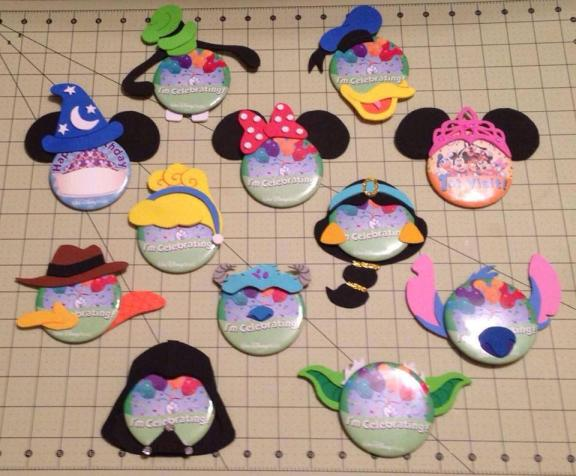 Assortment of Pin-Heads