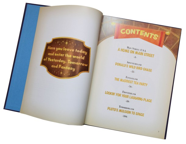 Books MK Storybook table of contents