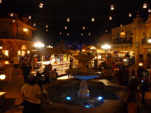 Mexico Pavilion inside