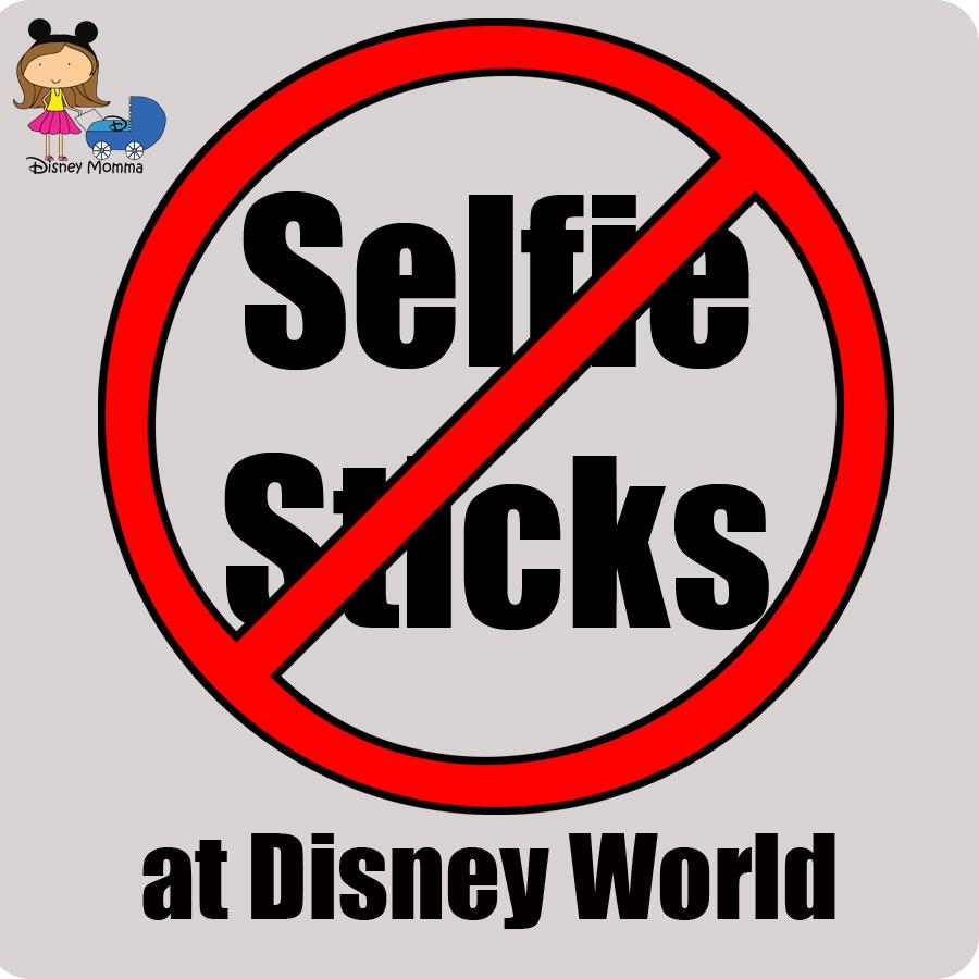 selfie sticks to be banned altogether at disney world disney momma. Black Bedroom Furniture Sets. Home Design Ideas
