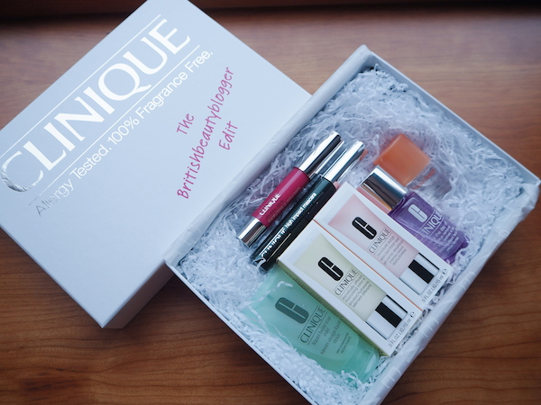 British Beauty Blogger Clinique beauty box for Latest In Beauty