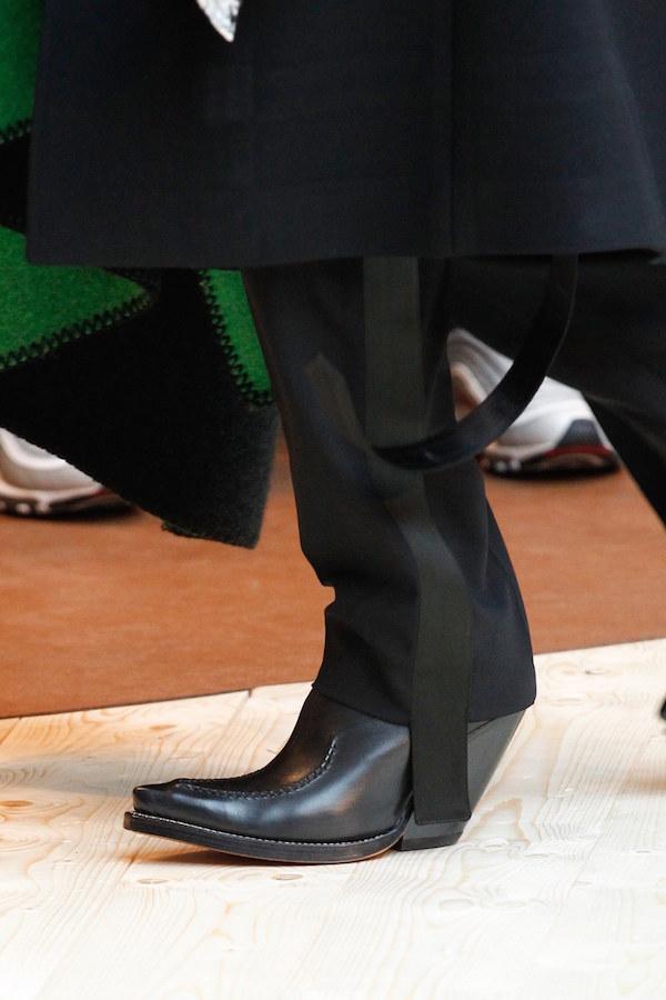 Celine aw17 cowboy boots