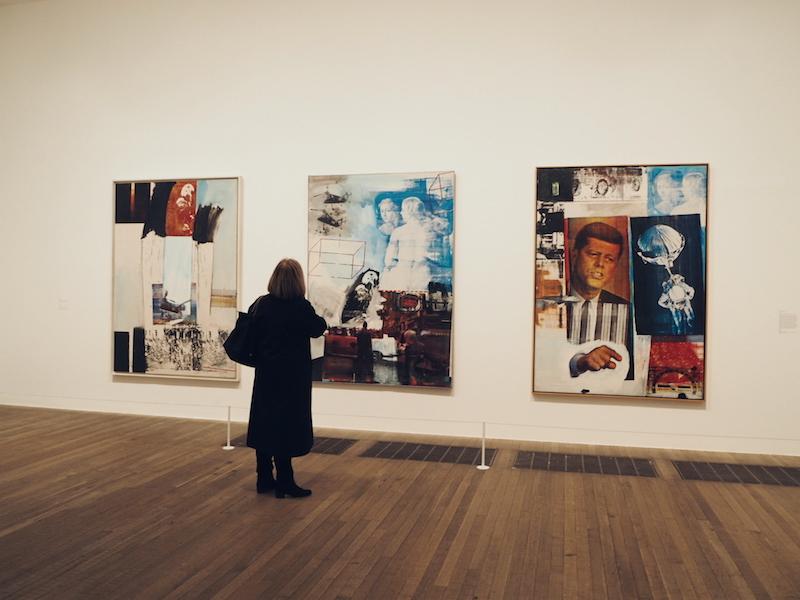 Robert Rauschenberg Retroactive II Tate Modern