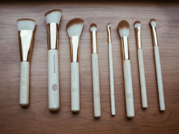 best makeup brushes from Zoeva