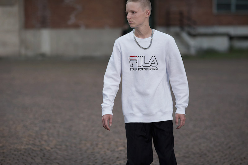 Gosha Rubchinskiy Fila collaboration