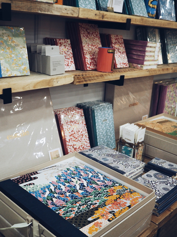 Esmie notebooks and photo albums from Liberty