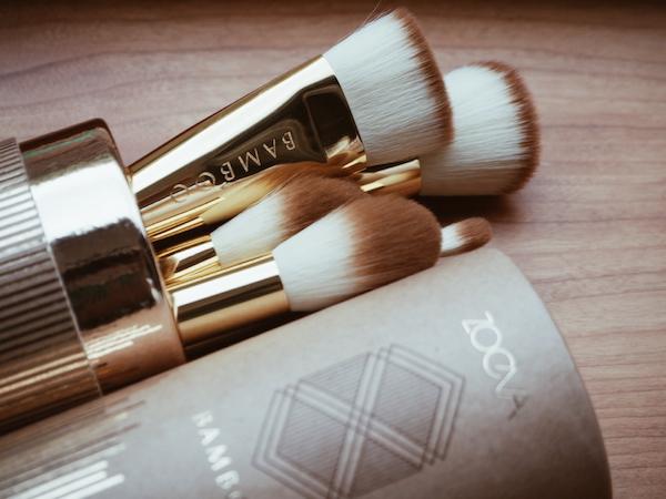 vegan makeup brushes from Zoeva