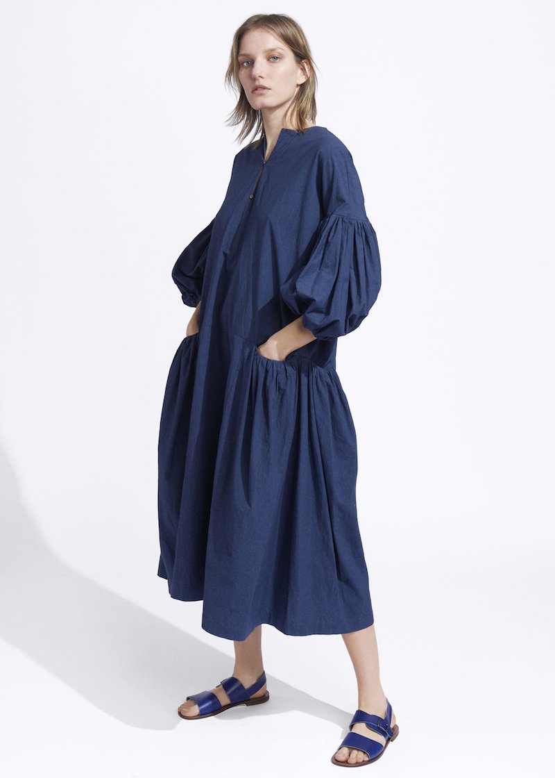 Ecole de Curiosites navy dress from Tiina the Store