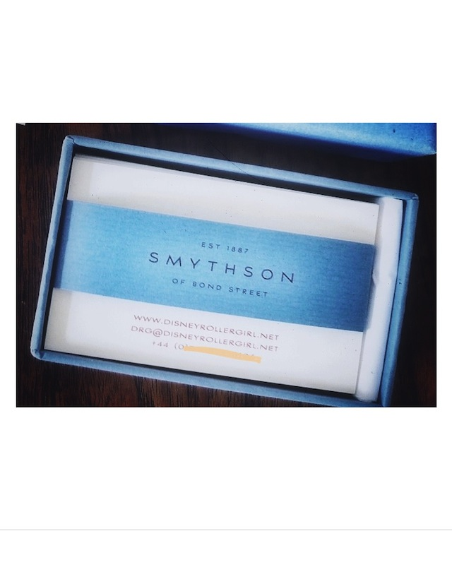 How Smythson business cards are made
