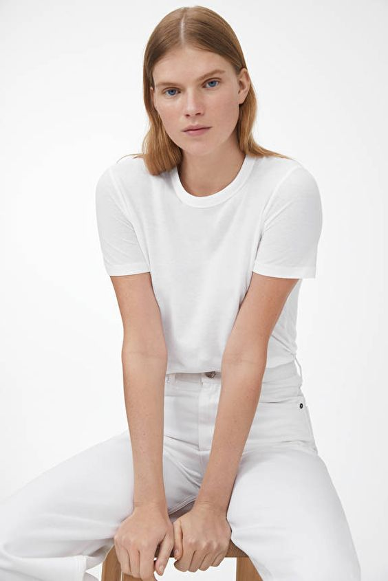 Arket white T-shirt SS20