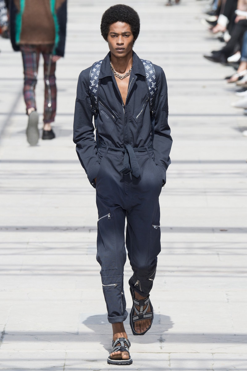 Louis Vuitton menswear ss17 Vogue Runway