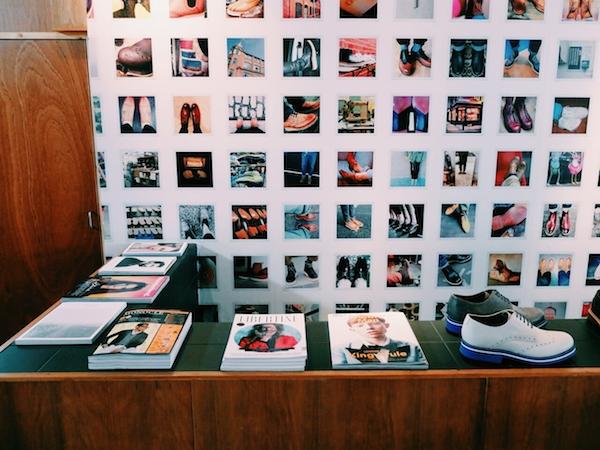 Grenson-London shoe store Lamb's Conduit Street