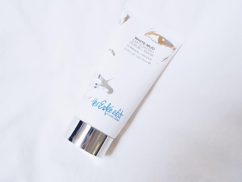 The Estee Edit White Mud Exfoliating Scrub and Mask