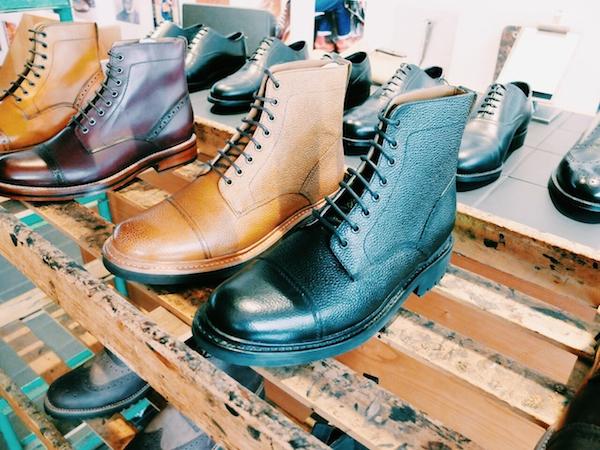 Grenson Aw14 military style boot for men and women via Disneyrollergirl blog