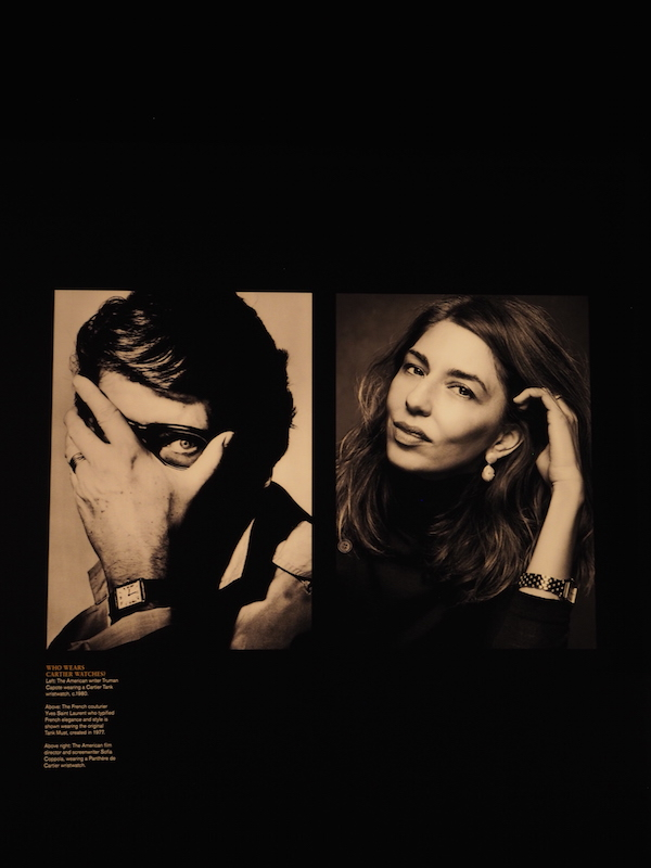 Yves saint laurent and Sofia Coppola in Cartier