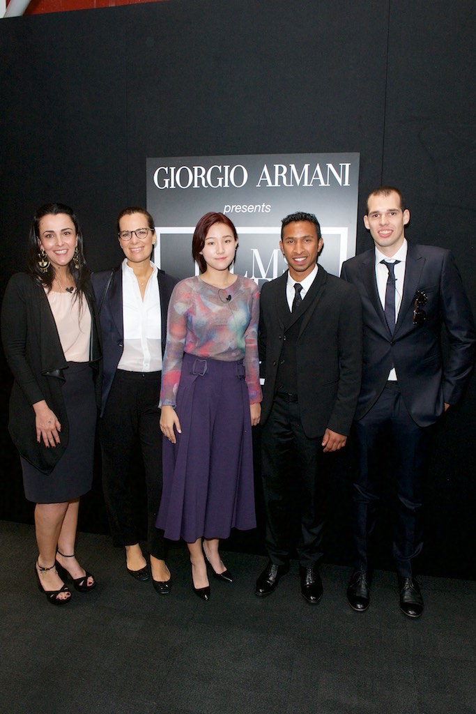 Armani Films of City Frames Screening at BFI Southbank Juliana Valente, Roberta Armani, Sang-Ho Lee, Chris Sebastian Joys, Tommaso Bianchi