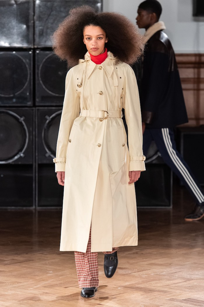 Wales Bonner AW20 women's trench coat - Vogue Runway