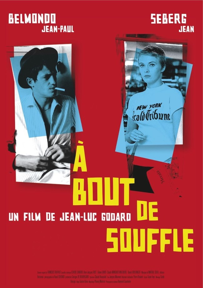 A Bout de Souffle movie by Jean-Luc Godard