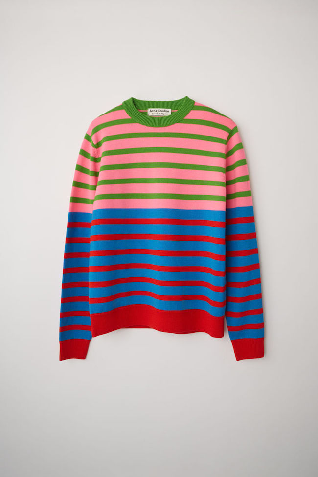 Acne Studioe X Jacob Dahlgren striped sweater
