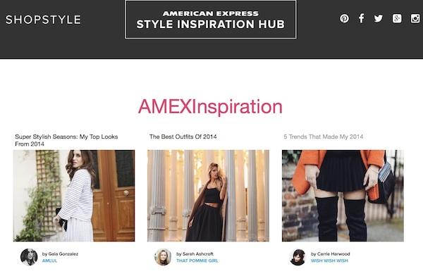Shopstyle Inspiration Hub