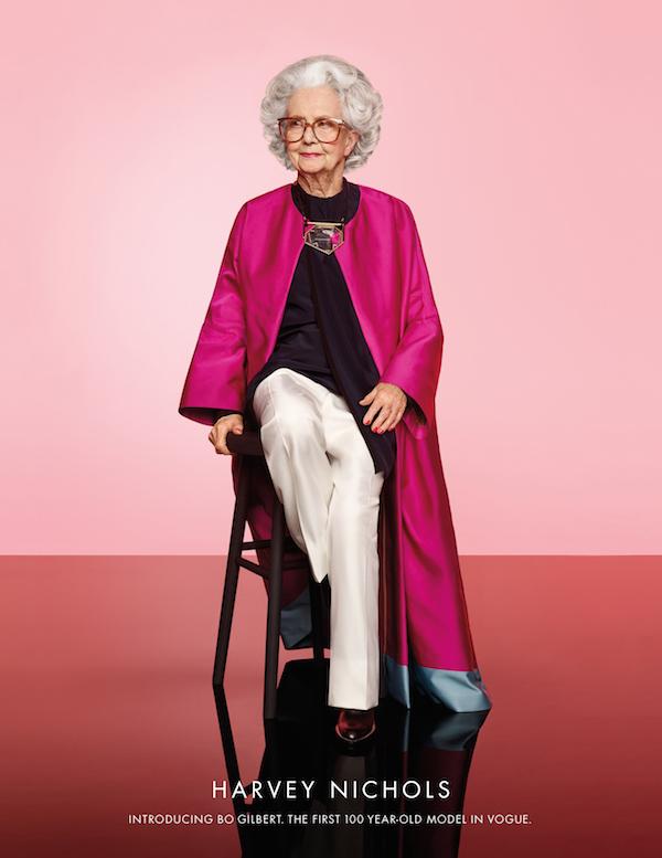 100 year old Harvey Nichols model