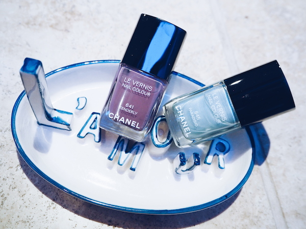 Chanel spring 2015 nail colours