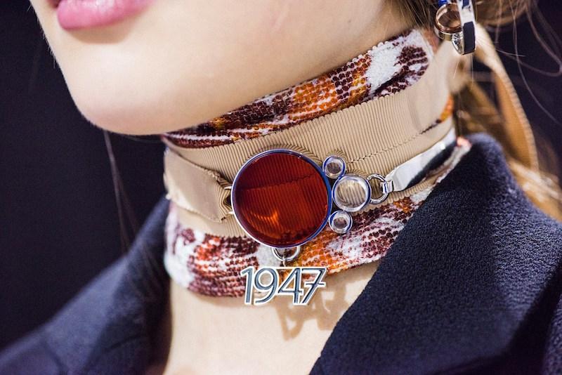 Dior ss16 scarf choker