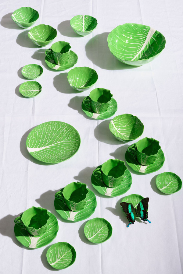 Dodie Thayer Tory Burch lettuce ware 4