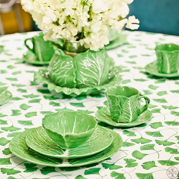 Dodie Thayer Tory Burch lettuce ware 5